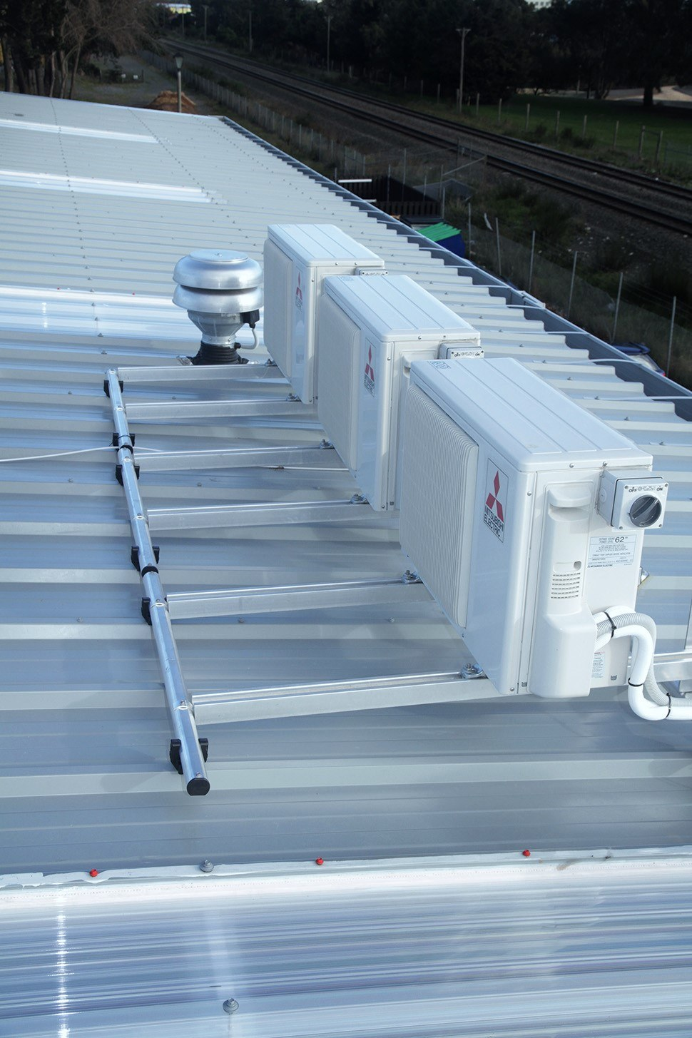 Condenser Roof Mounting System Boxed Kitset Ready To