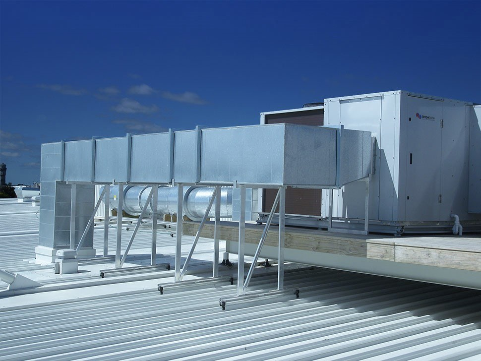 Aluminium Roof Mounting Solution Modular Mounting System