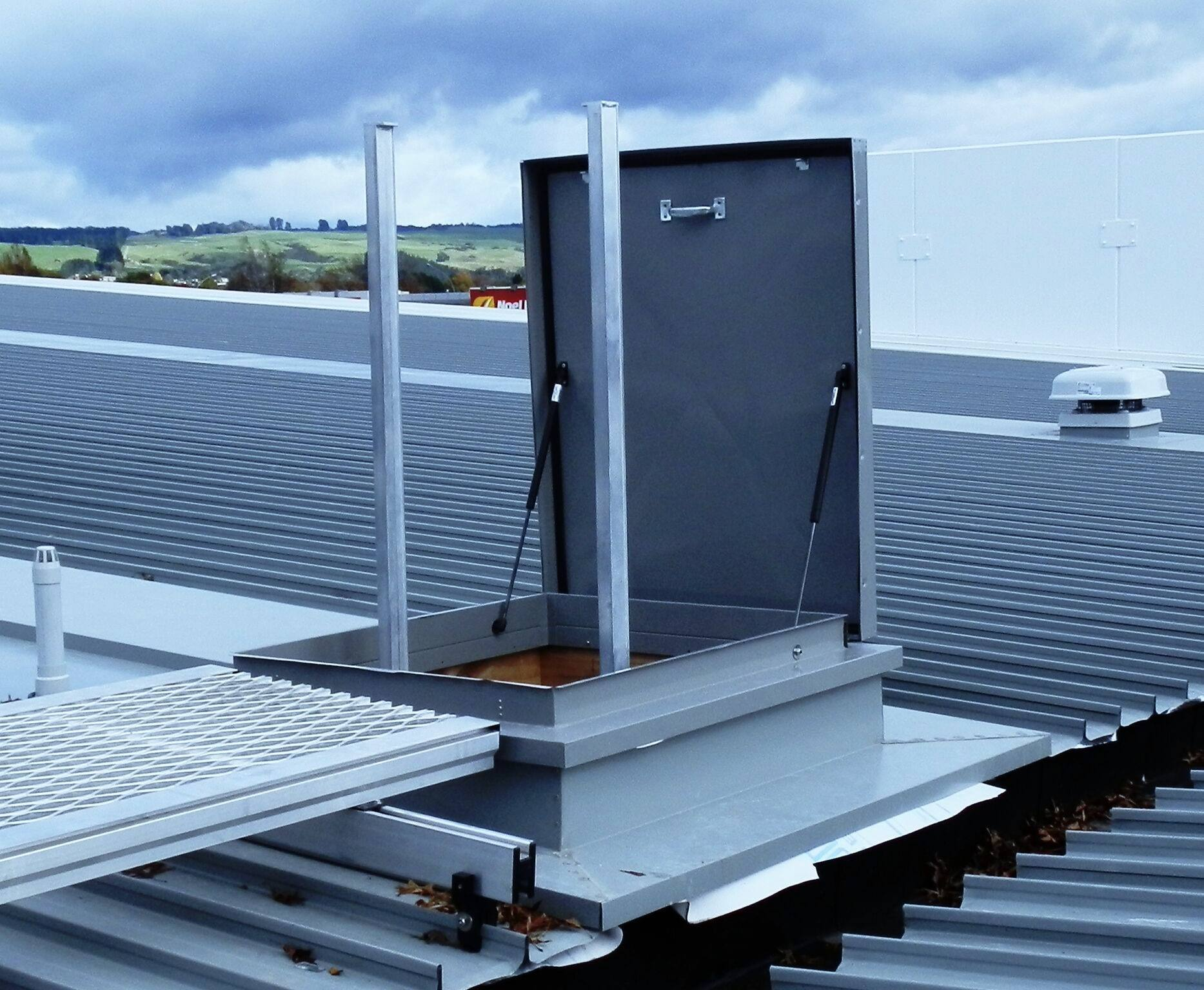 Roof Access Hatches Fully Engineered Safe Amp Convenient