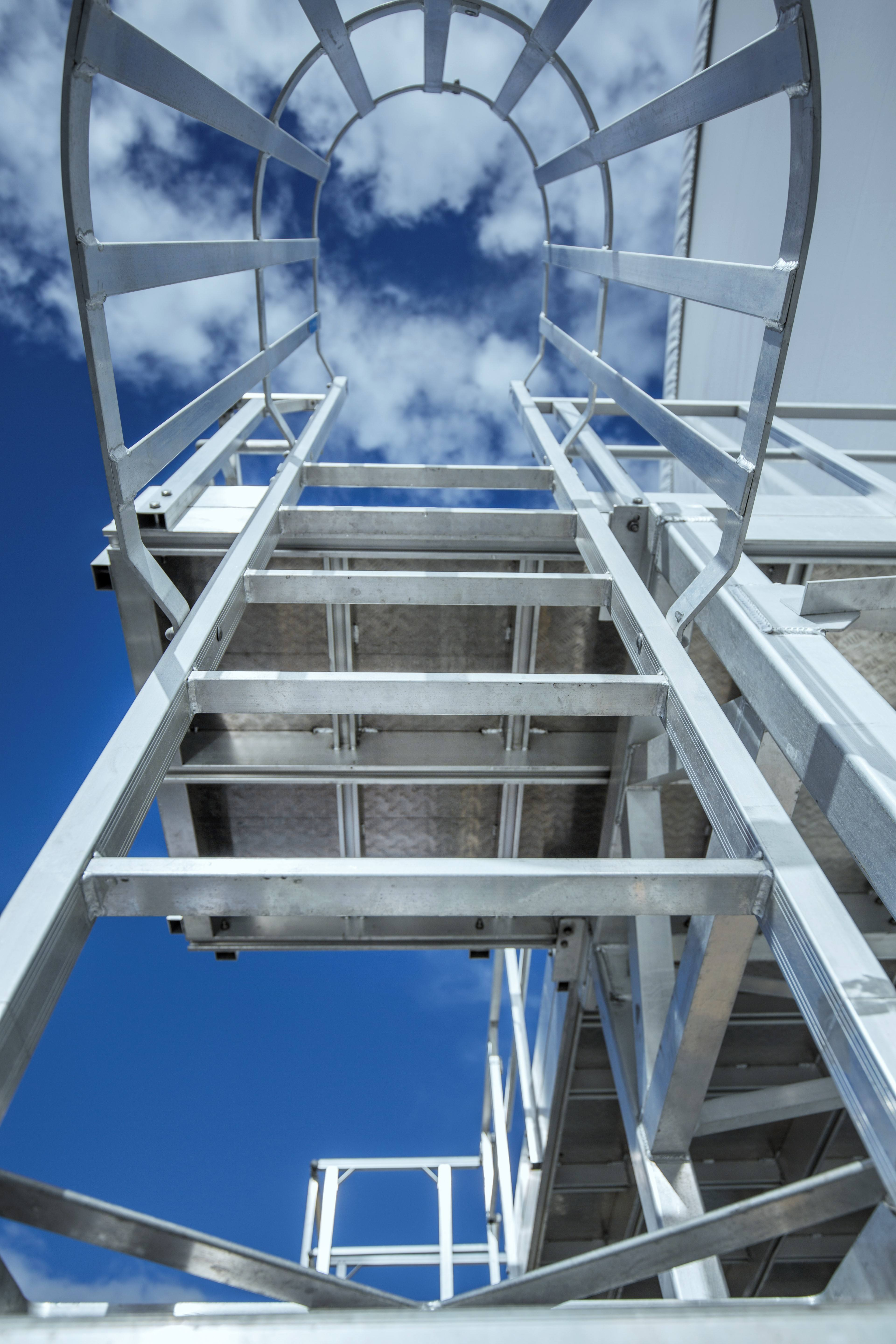 Monkeytoe Roof Access Ladders & Cages | Design, Manufacture